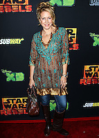 """CENTURY CITY, CA, USA - SEPTEMBER 27: Joely Fisher arrives at the Los Angeles Screening Of Disney XD's """"Star Wars Rebels: Spark Of Rebellion"""" held at the AMC Century City 15 Theatre on September 27, 2014 in Century City, California, United States. (Photo by Celebrity Monitor)"""