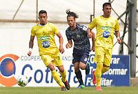 ITAGÜÍ - COLOMBIA, 07-03-2020: Leones F.C. y Atlético F.C. en partido por la fecha 6 del Torneo BetPlay DIMAYOR I 2020 jugado en el estadio Polideportivo Sur de Envigado. / Leones F.C. and Atletico F.C. in match between Leones F.C. and Atletico F.C. for the date 6 of the BetPlay DIMAYOR Tournament I 2020 played at Polideportivo Sur stadiim in Envigado city.  Photo: VizzorImage / Leon Monsalve / Cont