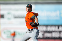 Augusta GreenJackets starting pitcher Phil Bickford (37) in action against the Kannapolis Intimidators at Intimidators Stadium on May 30, 2016 in Kannapolis, North Carolina.  The GreenJackets defeated the Intimidators 5-3.  (Brian Westerholt/Four Seam Images)
