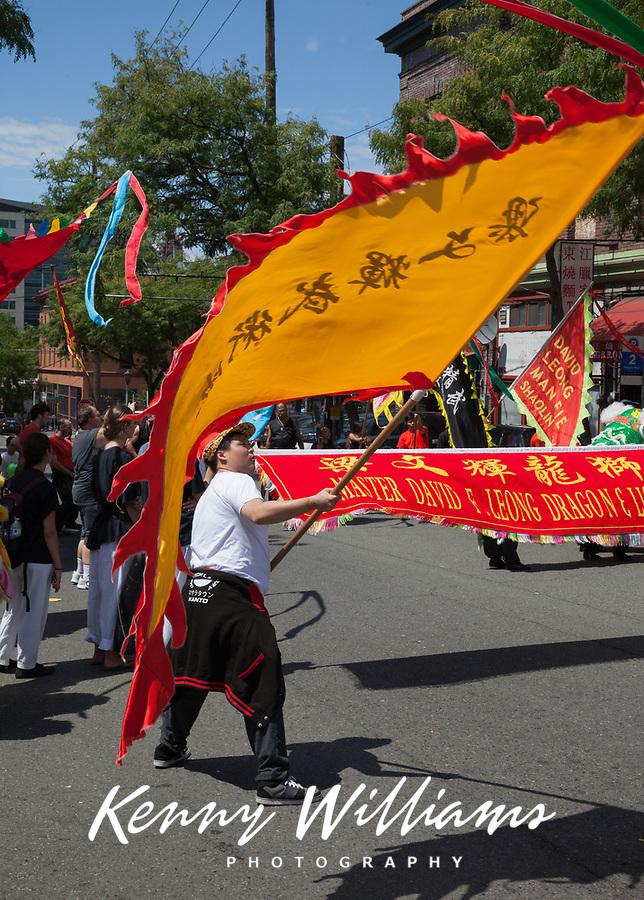 Dragon & Lion Dance Group, Dragon Fest 2015, Chinatown, Seattle, Washington, USA