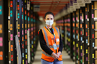 2020 10 04 Sarah Jones, Amazon Fulfillment Centre near Swansea, Wales, UK