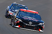 2017 Monster Energy NASCAR Cup Series<br /> O'Reilly Auto Parts 500<br /> Texas Motor Speedway, Fort Worth, TX USA<br /> Sunday 9 April 2017<br /> Matt Kenseth Toyota Let's Go Placess Toyota Camry and Kasey Kahne<br /> World Copyright: Russell LaBounty/LAT Images<br /> ref: Digital Image 17TEX1rl_4393