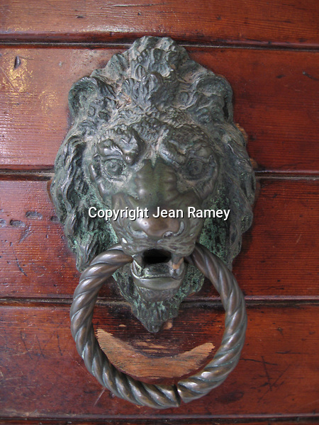 Lions are the symbol of Venice, and can be seen on architectural elements throughout the city.