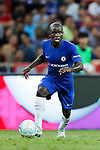 Chelsea Midfielder N'Golo Kante in action during the International Champions Cup match between Chelsea FC and FC Bayern Munich at National Stadium on July 25, 2017 in Singapore. Photo by Marcio Rodrigo Machado / Power Sport Images