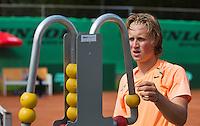 08-08-13, Netherlands, Rotterdam,  TV Victoria, Tennis, NJK 2013, National Junior Tennis Championships 2013,  Jelle Sels   <br /> <br /> <br /> Photo: Henk Koster