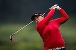 Hae-Jung Kim of Korea in action during the Hyundai China Ladies Open 2014 on December 12 2014 at Mission Hills Shenzhen, in Shenzhen, China. Photo by Li Man Yuen / Power Sport Images