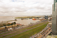 Bird's eye view of The harbour Buenos Aires Argentina, South America