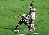São Paulo (SP), 06/03/2021 - São Paulo-Santos - Partida entre São Paulo e Santos pelo Campeonato Paulista na noite deste sábado (06), no estádio do Morumbi em São Paulo.