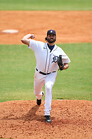 Detroit Tigers pitcher Luke Sommerfeld (71) during an Extended Spring Training game against the New York Yankees on June 19, 2021 at Tigertown in Lakeland, Florida.  (Mike Janes/Four Seam Images)
