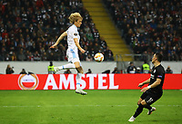 Dusan Basta (Lazio Rom) - 04.10.2018: Eintracht Frankfurt vs. Lazio Rom, UEFA Europa League 2. Spieltag, Commerzbank Arena, DISCLAIMER: DFL regulations prohibit any use of photographs as image sequences and/or quasi-video.