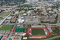 aerial photograph University of  Louisville, Kentucky