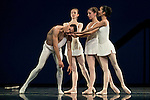 The Dutch National Ballet during a rehearsal for the press at Teatros del Canal in Madrid. April 28, 2016. (ALTERPHOTOS/Borja B.Hojas)