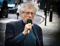 SEP 30 Piers Corbyn in Parliament Square