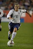 Tiffany Milbrett, USA vs. Norway, in Boston, Ma, 2003 WWC.