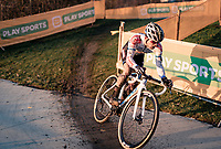 European CX Champion Eli Iserbyt (BEL/Pauwels Sauzen-Bingoal)<br /> <br /> Superprestige Boom (BEL) 2020<br /> Men's Race<br /> <br /> ©kramon