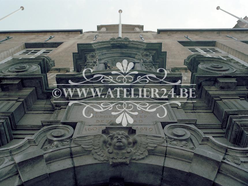 Juli 1994. Rockoxhuis in de Keizerstraat in Antwerpen.