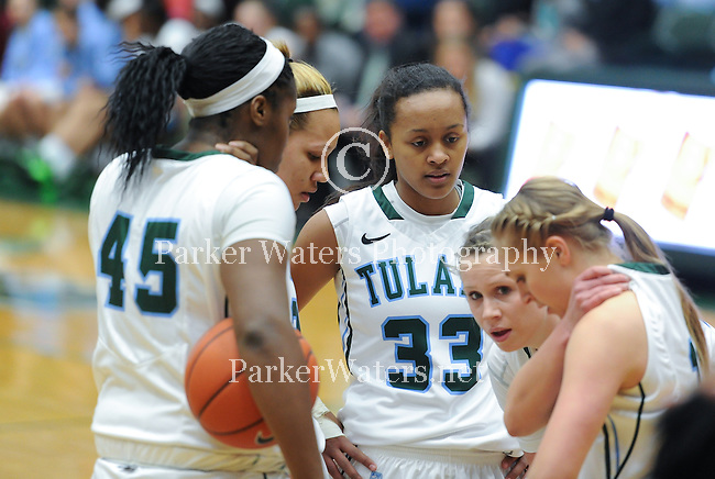 Tulane Women's Basketball defeats Southern Miss, 73-71 (OT), on a three point shot as time expires.