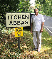 Man called Abbas visits every village in the UK to share his unusual name.