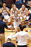 SAN ANTONIO, TX - FEBRUARY 20, 2020: The University of Texas at El Paso Miners defeat the University of Texas at San Antonio Roadrunners 85-59 at the Historic UTSA Convocation Center (Photo by Jeff Huehn).