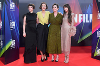 """**North America Only***<br /> <br /> Jessie Buckley, Maggie Gyllenhaal, Olivia Colman and Dakota Johnson attend """"The Lost Daughter"""" UK Premiere at The Royal Festival Hall during the 65th BFI London Film Festival in London.<br /> <br /> OCTOBER 13th 2021<br /> <br /> Credit: Matrix / MediaPunch"""