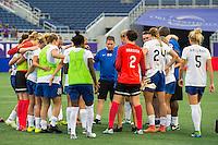 Orlando, FL - Sunday July 10, 2016: Matt Beard after a regular season National Women's Soccer League (NWSL) match between the Orlando Pride and the Boston Breakers at Camping World Stadium.