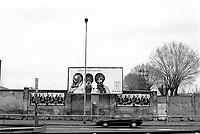 milano, cartellone pubblicitario lungo il perimetro della fieramilanocity --- milan, advertising along the perimeter of fieramilanocity