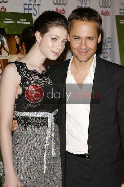 """Michelle Trachtenberg and Chad Lowe<br />at the AFI Fest 2006 Screening of """"Beautiful Ohio"""". Arclight Cinemas, Hollywood, CA. 11-10-06<br />Dave Edwards/DailyCeleb.com 818-249-4998"""