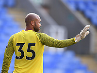 21st July 2021; Madejski Stadium, Reading, Berkshire, England; Pre Season Friendly Football, Reading versus West Ham United; Darren Randolph of West Ham apologises after a bad pass out from goal