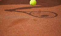 August 6, 2014, Netherlands, Rotterdam, TV Victoria, Tennis, National Junior Championships, NJK,  shadow<br /> Photo: Tennisimages/Henk Koster