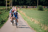 Team Quickstep Floors driving the peloton<br /> <br /> 98th Brussels Cycling Classic 2018<br /> One Day Race:  Brussels > Brussels (201km)