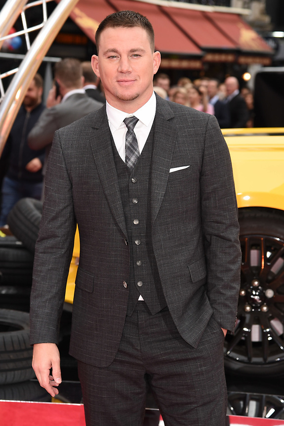 "Channing Tatum<br /> attending the premiere of ""Logan Lucky"" at the Vue West End, Leicester Square, London. <br /> <br /> <br /> ©Ash Knotek  D3295  21/08/2017"