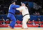 Tony Walby, London 2012 - Para Judo // Parajudo.<br /> Tony Walby competes in the Repechage Round of the +100kg category // Tony Walby participe à la ronde de repêchage de la catégorie +100kg. 09/02/2012.