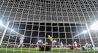 PRAGUE, Czech Republic - September 3, 2014: USA's goalie Brad Guzan during the international friendly match between the Czech Republic and the USA at Generali Arena.