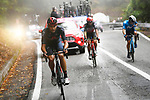 Filippo Ganna (ITA) Ineos Grenadiers out front on the category 1 Valico Montescuro from the breakaway during Stage 5 of the 103rd edition of the Giro d'Italia 2020 running 225km from Mileto to Camigliatello Silano, Sicily, Italy. 7th October 2020.  <br /> Picture: LaPresse/Fabio Ferrari | Cyclefile<br /> <br /> All photos usage must carry mandatory copyright credit (© Cyclefile | LaPresse/Fabio Ferrari)