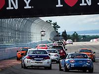 IMSA WeatherTech SportsCar Championship<br /> Sahlen's Six Hours of the Glen<br /> Watkins Glen International, Watkins Glen, NY USA<br /> Saturday 1 July 2017<br /> 81, BMW, BMW 328i, ST, Ari Balogh, Greg Liefooghe 27, Mazda, Mazda MX-5, ST, Britt Casey Jr, Matt Fassnacht<br /> World Copyright: Michael L. Levitt/LAT Images