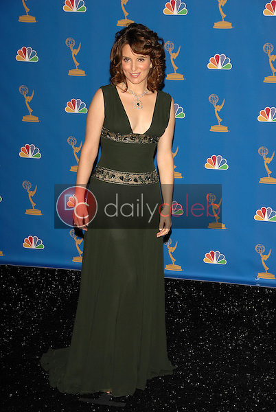 Tina Fey<br />in the Press Room at the 58th Annual Primetime Emmy Awards. The Shrine Auditorium, Los Angeles, CA. 08-27-06<br />Scott Kirkland/DailyCeleb.com 818-249-4998