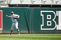 Cam Gibson (30) of the Michigan State Spartans throws during a 2015 Big Ten Conference Tournament game between the Nebraska Cornhuskers and Michigan State Spartans at Target Field on May 20, 2015 in Minneapolis, Minnesota. (Brace Hemmelgarn/Four Seam Images)