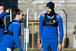 St Johnstone Training….09.10.20     <br />Shaun Rooney pictured during training at McDiarmid Park this morning ahead of tomorrow's Betfred Cup game against Brechin.<br />Picture by Graeme Hart.<br />Copyright Perthshire Picture Agency<br />Tel: 01738 623350  Mobile: 07990 594431