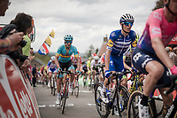 Enric MAS (ESP/Deceuninck-Quick Step) up the infamous Mur de Huy<br /> <br /> 83rd La Flèche Wallonne 2019 (1.UWT)<br /> One day race from Ans to Mur de Huy (BEL/195km)<br /> <br /> ©kramon