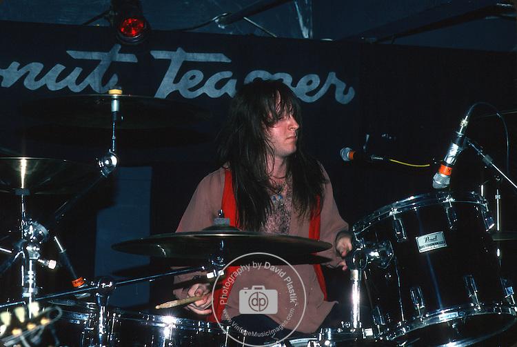 Brian Keats of Princess Pang at the Coconut Teaser in 1989.