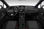 Stock photo of straight dashboard view of 2018 Subaru WRX Base 4 Door Sedan