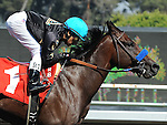 October 2, 2010.Dixie Cross riden by Rafael Bejarano wins the 4th at Hollywood Park, Inglewood, CA._Cynthia Lum/Eclipse Sportswire.com