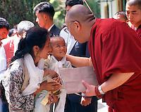 The Dalai lama, Dharamsala, India 1996