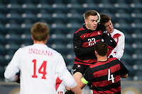 Chester, PA - Sunday December 10, 2017: Sam Werner. Stanford University defeated Indiana University 1-0 in double overtime during the NCAA 2017 Men's College Cup championship match at Talen Energy Stadium.