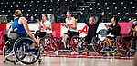 Tokyo 2020 - Wheelchair Basketball // Basketball en fauteuil roulant.<br /> Canada takes on the USA in the wheelchair basketball quarterfinal // Le Canada affronte les États-Unis en quart de finale de basketball en fauteuil roulant. 31/08/2021.