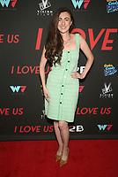WEST HOLLYWOOD, CA - SEPTEMBER 13: Amber Martinez, at the LA Premiere Screening Of I Love Us at Harmony Gold in West Hollywood, California on September 13, 2021. Credit: Faye Sadou/MediaPunch