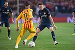 Atletico de Madrid's Saul Ñiguez and FC Barcelona Neymar during Champions League 2015/2016 Quarter-Finals 2nd leg match. April 13, 2016. (ALTERPHOTOS/BorjaB.Hojas)