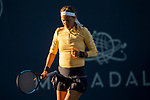 August 1, 2019: Victoria Azarenka (BLR) in action where she was defeated by Donna Vekic (CRO) 6-4, 6-3 in the second round of the Mubadala Silicon Valley Classic at San Jose State in San Jose, California. ©Mal Taam/TennisClix/CSM