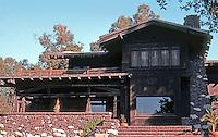 Greene & Greene: Theodore Irwin House, 240 N. Grand, Pasadena.  Photo '77.