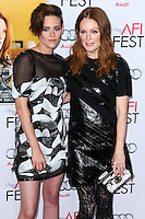 HOLLYWOOD, LOS ANGELES, CA, USA - NOVEMBER 12: Kristen Stewart, Julianne Moore arrives at the AFI FEST 2014 - 'Still Alice' Special Screening held at the Dolby Theatre on November 12, 2014 in Hollywood, Los Angeles, California, United States. (Photo by Xavier Collin/Celebrity Monitor)